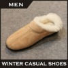 2012 winter indoor shoe most popular loafers man leather moccasins
