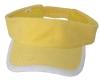 Terry towel fabric visor