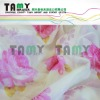 width 280cm voile printed curtain fabric