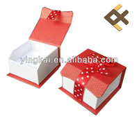 cute paper gift box with bow for chirstmas