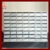 New modern Residential 56 door 304 stainless steel mailboxes