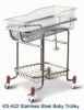 Stainless Steel Baby Trolley KS-A22