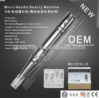 Newest Technology- Multifunctional changeable Heads Machine for Permanent Makeup& Skin Needling(ZX12-20)