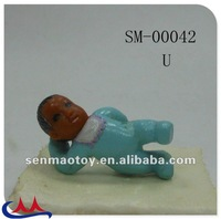 plastic mini pvc baby style model toy