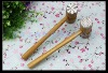 bamboo wooden meat tenderizer meat hammer