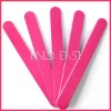 Pink Nail file sanding file for acrylic nail art UV gel tool buffer D145