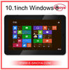 10.1inch Windows 7/8/linux tablet pc with bluetooth 3G intel ATOm N570 tablet pc