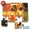 Dogs Magnetic Puzzle diecut 12pcs DIY Toy