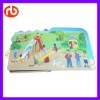Hardcover cardboard book for kids