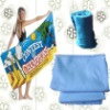 Thermal transfer printing Double-sided velvet Beach Towel