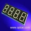 "0.80""(20.3mm) Quadruple Digit Display blue color"