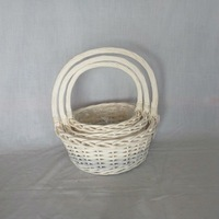 Willow Flower Basket/Fruit Basket