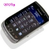clear three layer screen protector for blackberry torch 9800 housing