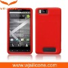 Silicone RED skin soft case cover for MOTOROLA DROID X