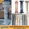 Quality assurance natural stone carving column
