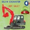 Mini Crawler Hydraulic Excavator for Sale with YANMAR Engine OJ60