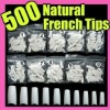 Hotselling super nail tips acrylic design with white color