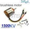 1500KV Outrunner Brushless Motor with mount