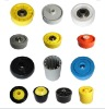 JS Small plastic wheel, Portable PP wheel, Skate rail roller accessory