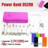 mobile power bank White/Black/Blue/Orange/Pink/Green colors,High quality!