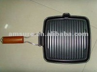 Cast Iron Non-stick Steak Pan