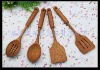 cherry wood spoon spatula sets