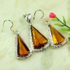 Colorful jewelry brazil citrine jewelry sets
