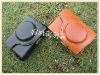 leather case Pouch bag for Canon S90 S95 S100 New Black