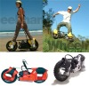 2 strokes 49cc motorized skateboard