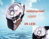 Waterproof recorder watch with night vision