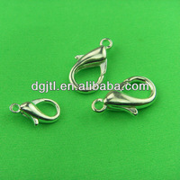 Fashion metal silver plating lobster clasp