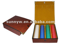fashione style Brown leather chip set