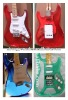 Sell Hot Bass Fashion red color and Acrylic Electric Guitar