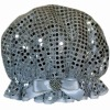 Sequined shower cap, Eco-friendly material ( the latest fashion)