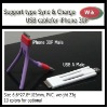 new Tripod type dual color usb cable for 30P iPhone iPad