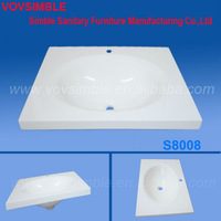 Vovsimble Comfortable touch acrylic resin wash sink