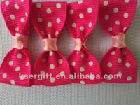 Christmas Gift Packing Printed Ribbon Bow