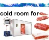 High Quality Double-temperature cold room