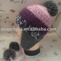 Cute Knitted Beanie for Girls