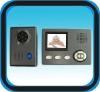 Wireless Digital Video Doorbell Villa Color Video Intercom System