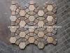 8 corner slate mosaic