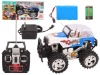 R/C TRUCK W/LIGHT 3COLOUR WITH CHARGER