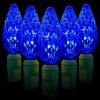 35L Christmas light C6 string / Blue Color