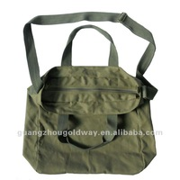 cotton canvas sports shopping shoulder bag
