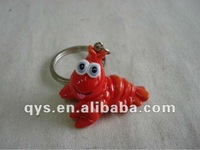 lobster keyring with removable rings