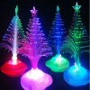 2013 New Christmas Decoration Multi-color Fiber Optic Led Christmas Pine Tree Lights