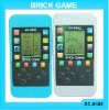 ZC-8183 Sell Phone Brick Game with touch keypad