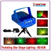 Twinkling star stage light
