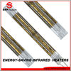 gold coating short wave quartz infrared halogen industrial heaters with italian technology