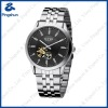 Stainless Steel Quartz Watches with 3ATM Water Resistant Case Back